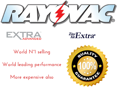 hearing aid RayovacExtra advanced price better