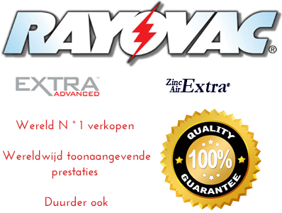 Rayovac Extra Advanced hoorapparaat better prijzen