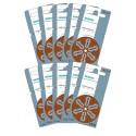 Pack de 10 x 6 Piles auditives Siemens S312