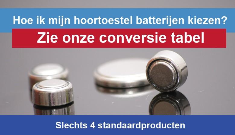 Hoe ik mijn hoortoestel batterijen zink-lucht hoortoestel voor kiezen mijn Veel keuzemogelijkheden, merken, slechts 4 standaardproducten Zie onze conversietabel