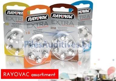 Rayovac assortiment producten