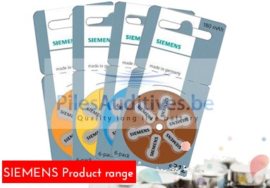 Siemens product range